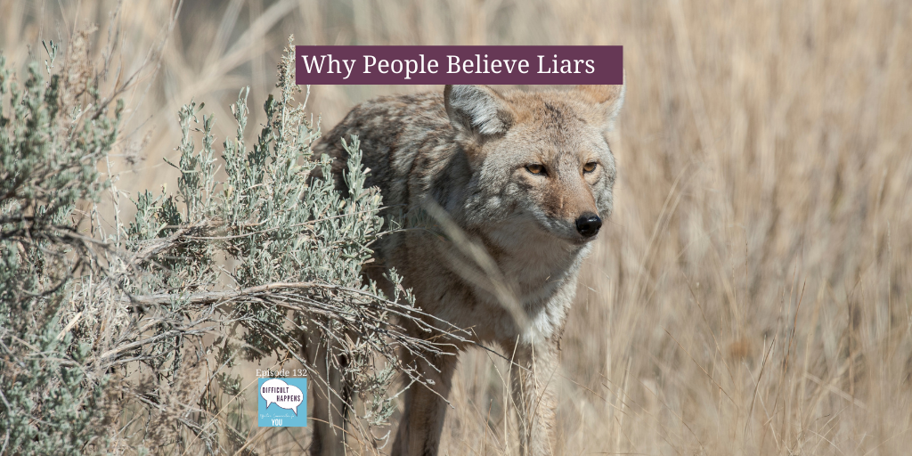 Why people believe liar