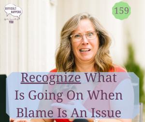 159 Recognize Blame